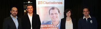 Ciudadanos (C's) Guadalajara pone cara a sus primeros candidatos para los municipios de El Casar, Galápagos, Torrejón del Rey y Valdeaveruelo.