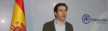Lorenzo Robisco parlamentario  regional por Guadalajara y portavoz adjunto del GPP en las Cortes regionles.