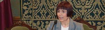 Consuelo García, portavoz del Grupo Municipal Socialista en el Ayuntamiento de Cuenca.