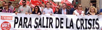 Manifestación del 1º de Mayo en Toledo.