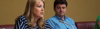 Llanos Navarro, portavoz del Grupo Municipal del Partido Popular en el Ayuntamiento de Albacete.