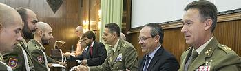 Inauguración del curso escolar y cátedra Garcilaso de la Vega de la Academia de Infantería