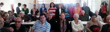 Carmen Heredia y Verónica Renales presentan a las asociaciones el Catálogo de Asociaciones y Entidades Ciudadanas