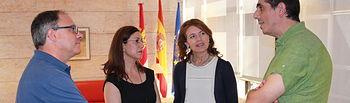 Reunión con la Federación regional de asociaciones de Autismo. Foto: JCCM.