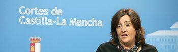 Patricia Franco comparece en la Comisión de Empleo de las Cortes. Foto: JCCM.