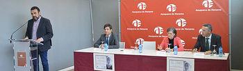 Un momento de la presentación del Ciclo de Pensamiento Saludable José Luis Sampedro. Fotografía: Álvaro Díaz Villamil / Ayuntamiento de Azuqueca