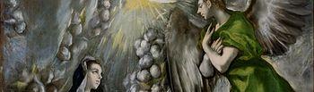 La Anunciación, de El Greco.