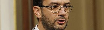 El portavoz socialista, Antonio Hernando