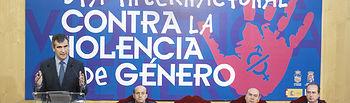 Acto institucional contra la Violencia de Género en Guadalajara.