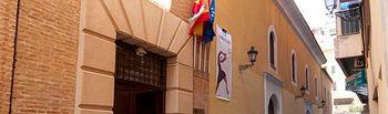 Fachada del Centro Sociocultural de la Asunción, sede del Instituto de Estudios Albacetenses.