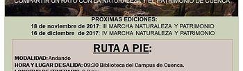 Cartel II Marcha Naturaleza y Patrimonio.