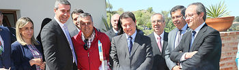 El presidente de Castilla-La Mancha, Emiliano García-Page, ha asisitido a la celebración de la tradicional Romería del Valle de Toledo (FOTOS: Ignacio López // JCCM)