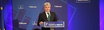 Leandro Esteban informa del Consejo de Gobierno_4 280515. Foto: JCCM.