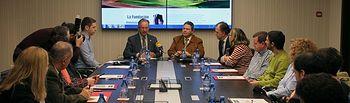 Presentada la nueva web de la Fundación Globalcaja Cuenca y firma de convenios