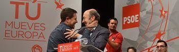 Mitin del PSOE en Talavera de la Reina