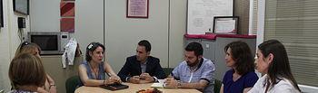 El Instituto de la Mujer y el Ayuntamiento de Cabanillas del Campo coinciden en la necesidad de promover otros modelos de masculinidad para acabar con las desigualdades de género. Foto: JCCM.