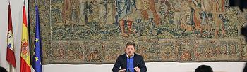 Nacho Hernando informa sobre los acuerdos del Consejo de Gobierno II. Foto: JCCM.