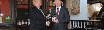 Marcial Marín y César Egido. Foto: JCCM.