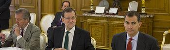 Madrid, España.El Presidente del Gobierno, Mariano Rajoy, asiste a la primera reunión del Patronato Fundación Centro Memorial Víctimas del Terrorismo.Fotografía: Diego Crespo / Presidencia del Gobierno.Secretaría de Estado de Comunicación.