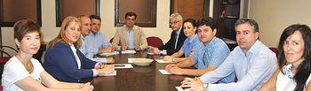 Foto reunión concejales.