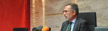 Francisco Delgado, teniente de alcalde de Personal y Régimen Interior del Ayuntamiento de Valdepeñas.