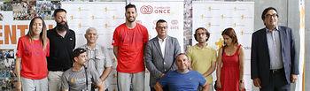 Fundación ONCE  y Fundación Rudy Fernández promocionan el baloncesto en silla de ruedas en Baleares
