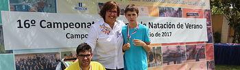 Campeonato Regional de Natación para Personas con Discapacidad Intelectual celebrado en Campo de Criptana.