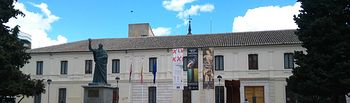El Convento de La Merced acoge mañana la inauguración de la exposición 'Don Quijote ante la cámara'. Foto: JCCM.