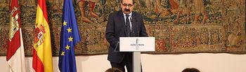 Rueda de prensa del consejero de Sanidad sobre el Plan DIGNIFICA. Foto: JCCM.