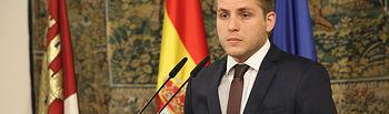 El portavoz del Gobierno informa sobre los asuntos del Consejo de Gobierno. Foto: JCCM.
