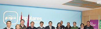 Comisión de Agricultura del PP, en la sede provincial.