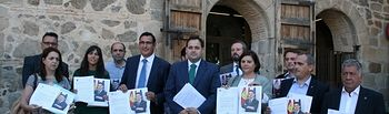 Alcaldes del PP, en las Cortes de Castilla-La Mancha.