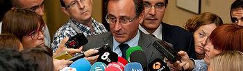 Declaraciones de Alfonso Alonso a los medios de comunicación
