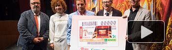 Presentación del Cupón de la ONCE dedicado al Teatro Circo de Albacete