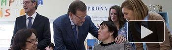 Rajoy y Cospedal en La Roda