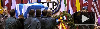 La Base Aérea de Los Llanos de Albacete homenajea y despide a los dos pilotos griegos fallecidos en el accidente del F-16