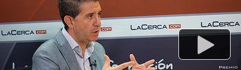 Santiago Cabañero, presidente de la Diputación Provincial de Albacete.