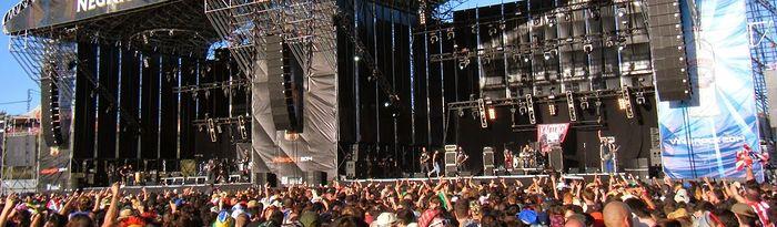 Imagen de archivo de ediciones anteriores del Viña Rock celebrado en Villarrobledo (Albacete).