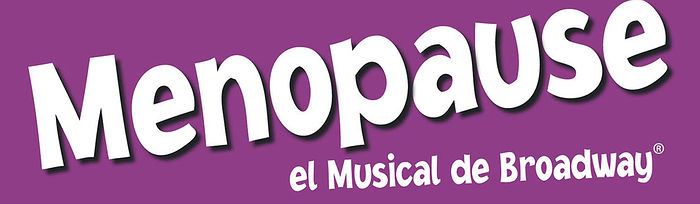 Cartel del musical 'Menopause'.