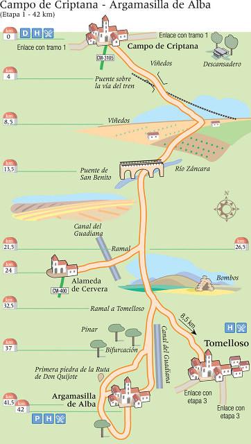 Etapa 1: Campo de Criptana - Argamasilla de Alba