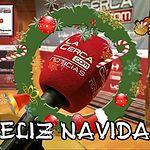 Feliz Navidad cuatro tercios paisaje.