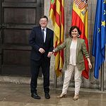 Carmen Calvo se reúne con Ximo Puig - AQUARIUS - REFUGIADOS (2) - 14-06