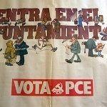 Entra en el Ayuntamiento, vota PCE.