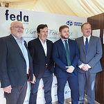 Tradicional vino insitucional en la Caseta FEDA en la Feria de Albacete'2018.