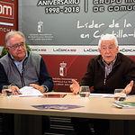 Salvador Jiménez, exalcalde de Albacete y jurista y José María Roncero, presidente de la UCE en Albacete