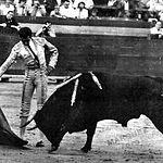 Manuel Amador hizo su presentación como novillero en la plaza de Albacete en el año 1957.