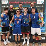 Torneo 3x3 Plaza CaixaBank de baloncesto