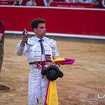 Feria Taurina Albacete 2019 - Cuarto toro Rubén Pinar.