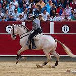 Juan Manuel Munera - Su primer toro - Corrida Feria Taurina 09-09-18