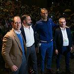Mitin De Santiago Abascal, líder de VOX, en Albacete. Foto: Manuel Lozano Garcia / La Cerca
